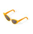 Isometric 3d of cat eye glasses vector image