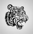 Tiger Tribal Design vector image