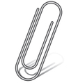Paperclip vector image