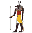 Seth Isolated figure of ancient egypt god vector image