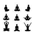 Meditation2 vector image
