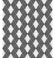 Hexagons and diamonds pattern vector image vector image