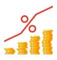 Finance Interest Concept vector image