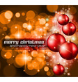 Christmas Background with a lot of ray lights vector image