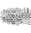 A look at cordless phones text word cloud concept vector image