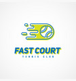 Sport template logo vector image