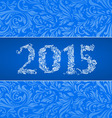 2015 banner vector image