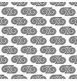 spiral geometric seamless pattern 1609 vector image
