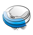 Cleanser MiniRobo Blue vector image