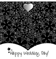 Wedding Day background or card vector image