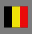flag belgium vector image