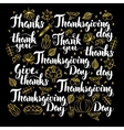 Thanksgiving Day Calligraphy Design vector image