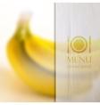 restaurant menu design on realistic blurred vector image