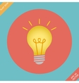 Lightbulb icon - vector image