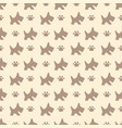 pattern with dog and paws vector image