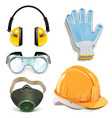 Protective Equipment vector image