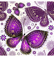 Seamless spring transparent pattern vector image vector image