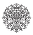 Decorative lace ethnic element vector image vector image