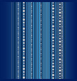 beautiful background with stripes and bead vector image