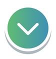 Web button icon vector image