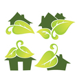 eco homes vector image