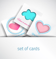 Card Baby vector image
