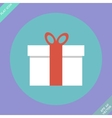 Gift box - vector image