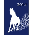 Horse Year vector image