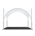 folding tent marquee pavilion vector image