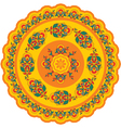 Oriental - Indian - Pattern Rosette vector image