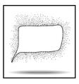 Bubble icon sketch vector image