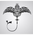 tattoo numbfish vector image vector image