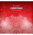 Merry Christmas and Happy New year celebration vector image