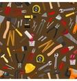 Work tool repair instrument seamless pattern vector image
