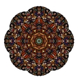 Most mandala consisting of complex elements Drawn vector image vector image