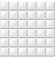 white tiles seamless pattern vector image