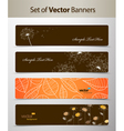 nature web headers vector image