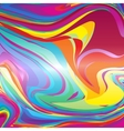 Abstract colorful line background template vector image