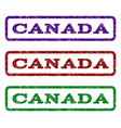 canada watermark stamp vector image