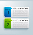 Steps for successful business infographic concept vector image