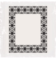 ornamental frame vintage in editable vector image vector image