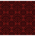 seamless floral pattern indian style vector image