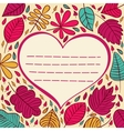 Love heart abstract background vector image