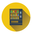 Food selling machine icon vector image