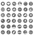 Summer time buttons vector image