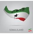 somaliland vector image