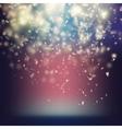 Randomly flowing confetti backgound EPS 10 vector image