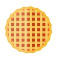 Waffle cakes vector image