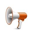 Megaphone Loudspeaker vector image vector image