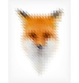 Triangle Fox vector image vector image